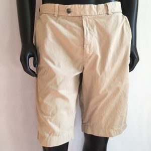 BROOKS BROTHERS BERMUDA FLAT FRONT SHORTS SIZE 36